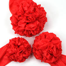 cloth ribbon usd 7 55 cloth paintball groom big flower ribbon set