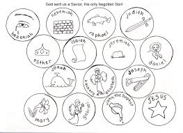tree symbols coloring pages disciples of jesus