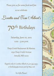 70th birthday invitation templates u2014 liviroom decors the golden