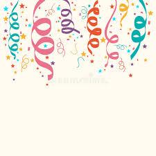 ribbons decoration for celebration stock illustration
