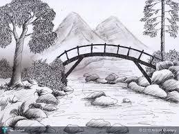 pencil sketch art designs photos pencil sketches of sceneries