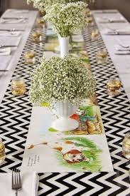 35 trendy baby shower theme table runners