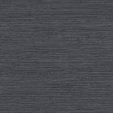 shining sisal faux grasscloth wallpaper in dark metallic charcoal