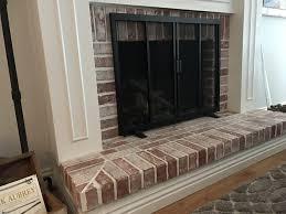 farmhouse fireplace u2013 just add rust