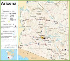 Maps Phoenix Arizona State Maps Usa Maps Of Arizona Az