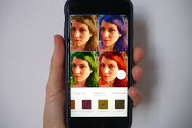 Change Hair Color Online Free Teleport U0027s Neural Networks Let You Try Before You Hair Dye
