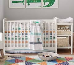 Changing Table Crib Hayden Crib Changing Table Combo Pottery Barn