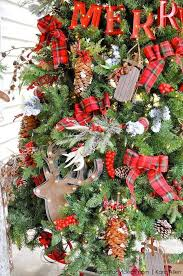 country tree decorations decor