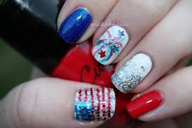 creative nails art designs to celebrate the 4th of july all for