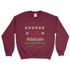 maroon sweater bitcoin sweater sweatshirt all i want is the moon