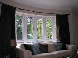 download bay window curtain ideas widaus home design