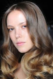 what is in hair spring and summer 2015 runway beauty undone elegance at naeem khan spring summer 2015
