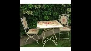 shabby chic garden furniture ideas youtube