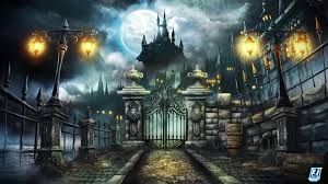 video game halloween background artstation untitled backdrop 1 remi abrahams