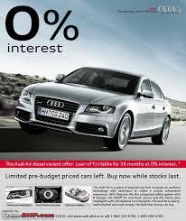 audi car loan interest rate audi q5 special emi rate team bhp