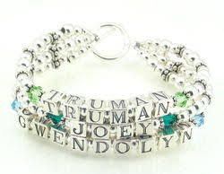mothers bracelets with birthstones 14 best mothers bracelets images on mothers bracelet