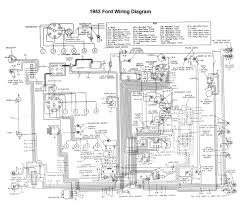 wiring for 1953 ford car ford 1952 u002753 u002754 pinterest ford