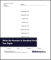 the 25 best standard form worksheet ideas on pinterest standard
