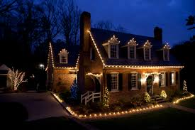 Custom Landscape Lighting by Custom Holiday Lighting For The Home Brings Out Style And Spirit