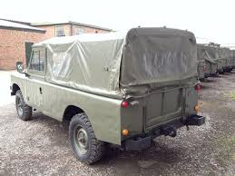 military land rover land rover series iii 109 lhd lwb soft tops petrol ex military