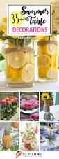Table Decorations 35 Best Summer Table Decoration Ideas And Designs For 2017