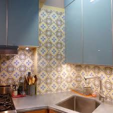 Cement Tile Backsplash Ideas  Cabinet Hardware Room Installing - Cement tile backsplash