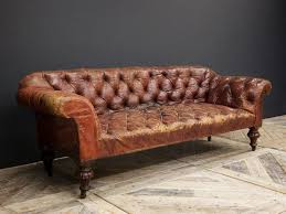 red leather sofa chesterfield vintage design pinterest home