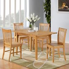 Butterfly Leaf Dining Room Table by East West Furniture Nofk Norfolk Dining Set The Mine