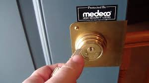 Residential Door Locks Medeco Double Cylinder High Security Locks Youtube