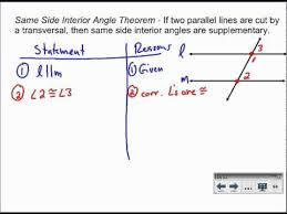 Example Of Alternate Interior Angles Alternate Exterior Angles Theorem Alternate Interior Exterior