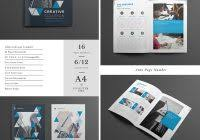 blank tri fold brochure template free download professional