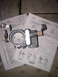 carter 539s overhauled carburetor g503 military vehicle message