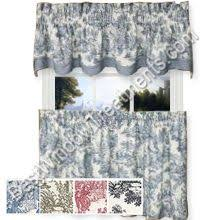 Toile Cafe Curtains Solid Tier Curtains Bestwindowtreatments Tier Curtains