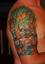 hawaiian sleeve tattoo art and designs page 6