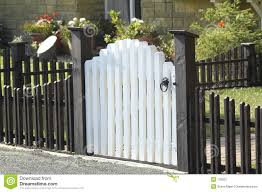 Picket Fences Picket Fence And Gate Royalty Free Stock Photography Image 178267