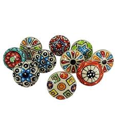 can cabinet handles be painted details about 10 set painted ceramic cabinet knobs and pulls drawer door handles