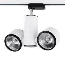 pro track lighting manufacturer gnh309 double led track light cree cob led track spotlight 24w24w