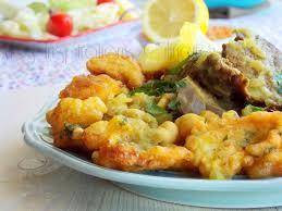 cuisine algeroise beignets de chou fleur sauce blanche cuisine algéroise le