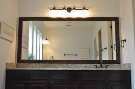 Framing Existing Bathroom Mirrors Frame Bathroom Mirror
