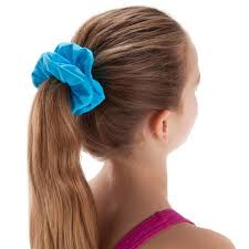 hair scrunchie swimming hair scrunchie blue nabaiji