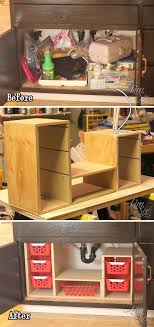 diy ideas for kitchen cabinets 15 easy diy ideas to organize your kitchen cabinets 2017