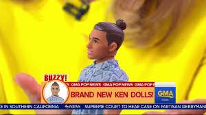 69 barbie ken man bun