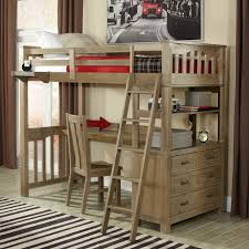 Loft Bed With Desk Thuka Maxi  Loft Bed With Desk And Sofa Bed - Twin bunk beds with desk