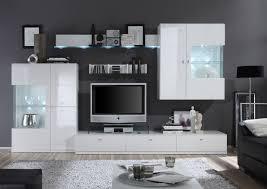 Wohnzimmerschrank Ohne Tv Funvit Com Designer Wohnwand Wohnzimmermöbel Weiß Hochglanz