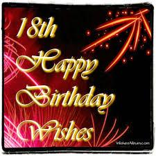 18th birthday wishes wishesalbum