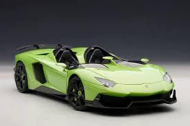 lamborghini aventador j autoart lamborghini aventador j green 74677 in 1 18 scale