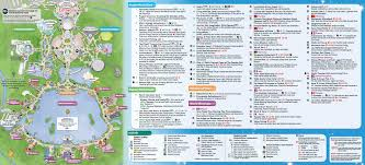 Arizona Spring Training Map by May 2016 Walt Disney World Park Maps Photo 1 Of 14