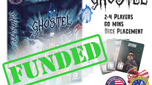 ghostel the board game by gino brancazio tinkerbot games