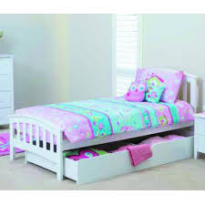 White Tallboy Bedroom Unit Nikki Single Bed Package U2013 Pine Discount