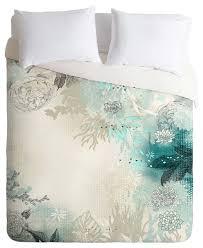 deny designs iveta abolina seafoam duvet cover contemporary